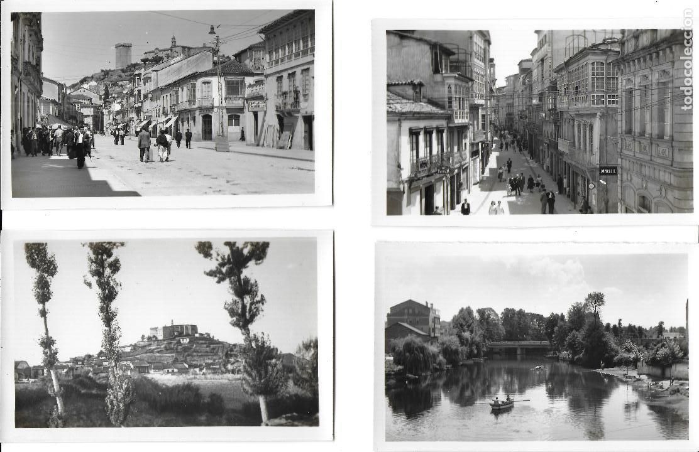 P- 7412. LOTE 4 POSTALES DE MONFORTES DE LEMOS,LUGO. ED. ARRIBAS. (Postales - España - Galicia Moderna (desde 1940))