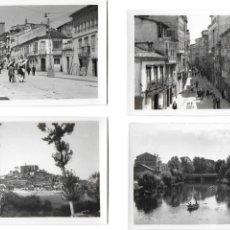 Postales: P- 7412. LOTE 4 POSTALES DE MONFORTES DE LEMOS,LUGO. ED. ARRIBAS.. Lote 97360583
