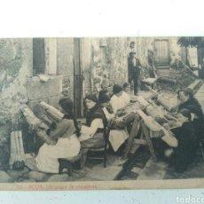 Postales: POSTAL NOYA. UN GRUPO DE ENCAJERAS. N. 15. GALICIA. Lote 97775182