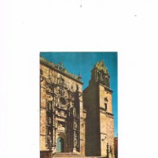 Postales: POSTAL ANTIGUA GALICIA SIN CIRCULAR PONTEVEDRA BASILICA DE SANTA MARIA FACHADA PRINCIPAL. Lote 98065219