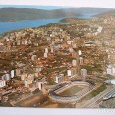 Postales: POSTAL PONTEVEDRA - VIGO - VISTA AEREA - CAMPO FUTBOL CELTA BALAIDOS - 1974 - FAMA 3307 - SIN CIRCUL. Lote 98350775