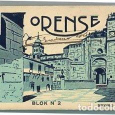 Postales: ORENSE BLOC COMPLETO CON 20 POSTALES ( CATEDRAL ) Nº 2. L. ROISIN. FIRMADO POR LUCIANO ROISIN. Lote 98782103