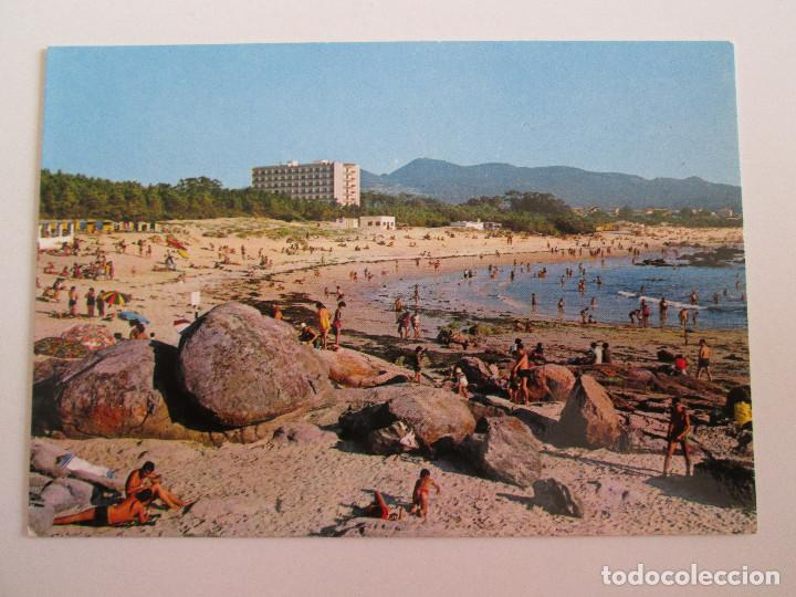 POSTAL PONTEVEDRA - VIGO - PLAYA DE SAMIL - 1969 - ALARDE 60 - SIN CIRCULAR (Postales - España - Galicia Moderna (desde 1940))