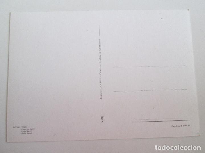 Postales: POSTAL PONTEVEDRA - VIGO - PLAYA DE SAMIL - 1969 - ALARDE 60 - SIN CIRCULAR - Foto 2 - 98848091