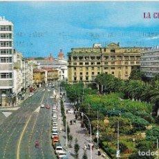 Postales: ** A742 - POSTAL - LA CORUÑA - AVENIDA LOS CANTONES Y JARDINES. Lote 98992995