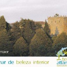 Postales: POSTAL CASTILLO DE SOUTOMAIOR. SOUTOMAIOR. PONTEVEDRA. Lote 180892943