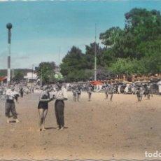 Postales: VILLAGARCIA DE AROSA (PONTEVEDRA) - PLAYA DE COMPOSTELA. Lote 99329731
