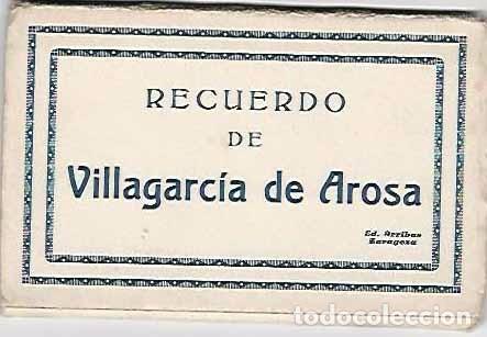 RECUERDO DE VILLAGARCÍA DE AROSA.- 10 POSTALES (Postales - España - Galicia Antigua (hasta 1939))
