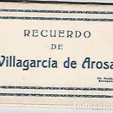 Postales: RECUERDO DE VILLAGARCÍA DE AROSA.- 10 POSTALES. Lote 99517883