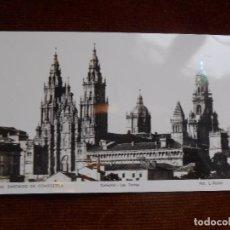 Postales: SANTIAGO DE COMPOSTELA -CATEDRAL -LAS TORRES. Lote 99600831