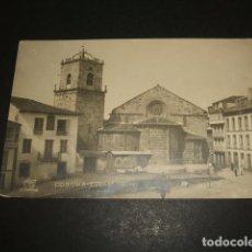Postales: LA CORUÑA IGLESIA DE SANTIAGO POSTAL FOTOGRAFICA FERRER. Lote 99855115