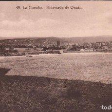 Postales: POSTAL LA CORUÑA 49 - ENSENADA DE ORZAN P.MUNDI/GALI-53 BUEN ESTADO. Lote 100497199