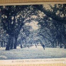 Postales: POSTAL EL FERROL DEL CAUDILLO.CAMPO DE BATALLOBES.. Lote 101371671