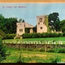 Postales: PAZO DE MEIRAS - LA CORUÑA. Lote 101607267