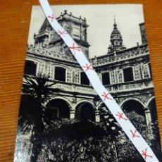 Postales: PATIO COLEGIO DE FONSECA. SANTIAGO DE COMPOSTELA. Lote 102592442