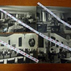 Postales: SALONES HOSTAL REYES CATÓLICOS. SANTIAGO DE COMPOSTELA.. Lote 102594052