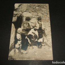 Postales: GALICIA VENDENDO PELEXAS POSTAL FOTOGRAFICA FERRER LA CORUÑA FOTOGRAFO. Lote 102743807