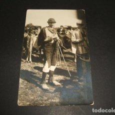 Postales: GALICIA VENDENDO D´A MONTAÑA POSTAL FOTOGRAFICA FERRER LA CORUÑA FOTOGRAFO. Lote 102743863