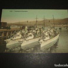 Postales: VIGO PONTEVEDRA TORPEDEROS HOLANDESES. Lote 103200039
