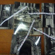 Postales: VARIAS IMÁGENES DE LA CATEDRAL DE SANTIAGO DE COMPOSTELA. Lote 102631484
