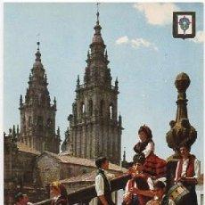 Cartes Postales: POSTAL DE GALICIA. EL GAITERO TOCA P-GA-1384. Lote 104121799