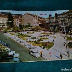 Postales: PLAZA DE GALICIA - ORENSE. Lote 104994111