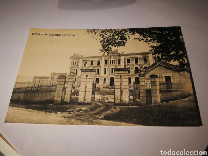 ORENSE. HOSPITAL PROVINCIAL. SIN CIRCULAR (Postales - España - Galicia Antigua (hasta 1939))