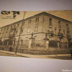 Postales: ORENSE. SEMINARIO CONCILIAR. SIN CIRCULAR ORIGINAL DE EPOCA. Lote 105690824