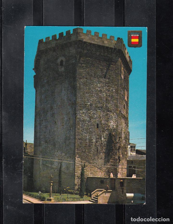 VILLALBA (LUGO). PARADOR NACIONAL CONDES DE VILLALBA. (Postales - España - Galicia Moderna (desde 1940))