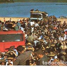 Postales: LA CORUÑA NOYA VENTA DE MARISCOS EN TESTAL. ED. ESTEIRAN. AÑOS 60, SIN CIRCULAR. Lote 106091571