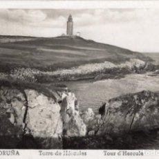 Postales: LA CORUÑA TORRE DE HERCULES AÑO 1954. Lote 106104951