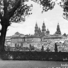 Postales: SANTIAGO DE COMPOSTELA LA CATEDRAL AÑO 1955. Lote 106105611