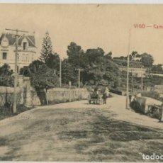 Postales: GALICIA. VIGO (PONTEVEDRA). CAMINO DE BAYONA. RARA.. Lote 106587111