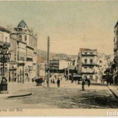 Postales: GALICIA. VIGO (PONTEVEDRA). PUERTA DEL SOL. COLOREADA. RARA.. Lote 106588711