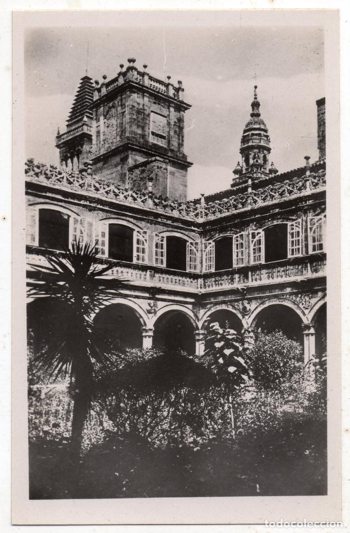 SANTIAGO DE COMPOSTELA. PATIO DEL COLEGIO DE FONSECA. (Postales - España - Galicia Antigua (hasta 1939))