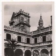 Postales: SANTIAGO DE COMPOSTELA. PATIO DEL COLEGIO DE FONSECA.. Lote 107137527