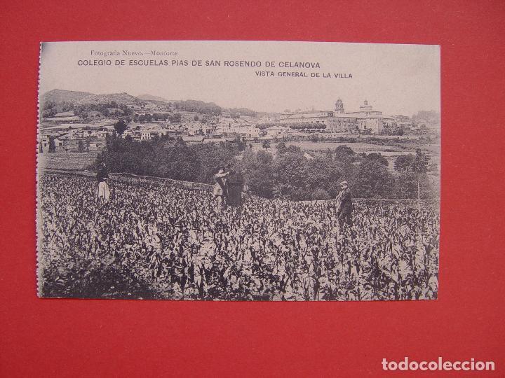 TARJETA POSTAL (1920'S) CELANOVA (HAUSER Y MENET) ¡SIN CIRCULAR! ¡ORIGINAL! (Postales - España - Galicia Antigua (hasta 1939))