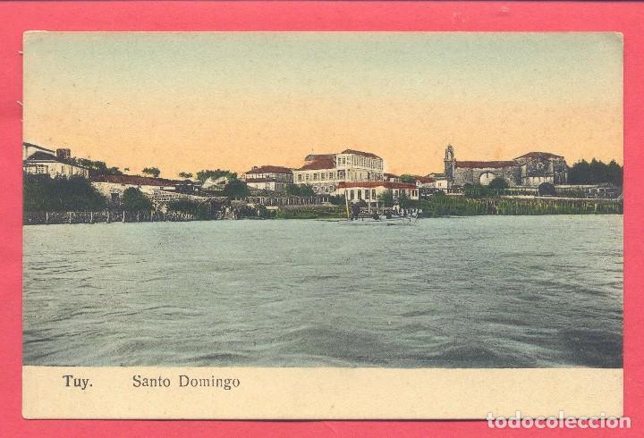 PONTEVEDRA- TUY SANTO DOMINGO, SIN CIRCULAR, VER FOTOS (Postales - España - Galicia Antigua (hasta 1939))