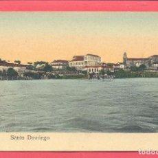 Postales: PONTEVEDRA- TUY SANTO DOMINGO, SIN CIRCULAR, VER FOTOS. Lote 107332663