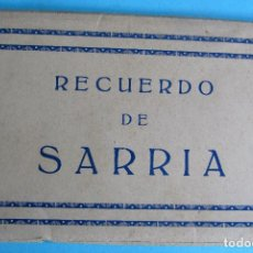 Postales: RECUERDO DE SARRIA, LUGO. BLOC COMPLETO CON 122 POSTALES. EDIC. ARRIBAS, ZARAGOZA.. Lote 109039503