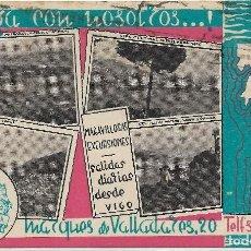 Postales: VIGO .- POSTAL PUBLICITARIA VIAJES CANTABRIA . Lote 109237743