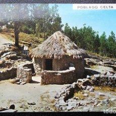 Postales: LA GUARDIA (PONTEVEDRA). 3112 MONTE DE SANTA TECLA. POBLADO CELTA. POSTALES FAMA. NUEVA. Lote 109253580
