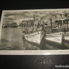 Postales: VIGO PONTEVEDRA EL BERBES BARRIO MARINERO. Lote 109400967
