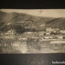 Postales: MONFORTE DE LEMOS LUGO VISTA. Lote 109443555