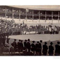 Postales: FERRER. CORUÑA.- FESTEJOS DE LA CORUÑA - POSTAL FOTOGRÁFICA - 1907. Lote 109564407
