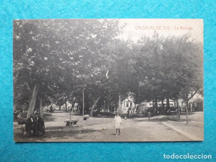 CALDELAS DE TUY. LA ROBLEDA. (Postales - España - Galicia Antigua (hasta 1939))