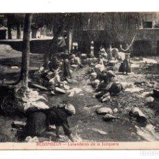 Postales: POSTAL REDONDELA - LAVANDERAS DE LA JUNQUERA. FOTOTIPIA CASTAÑEIRA Y ALVAREZ. . Lote 109632939