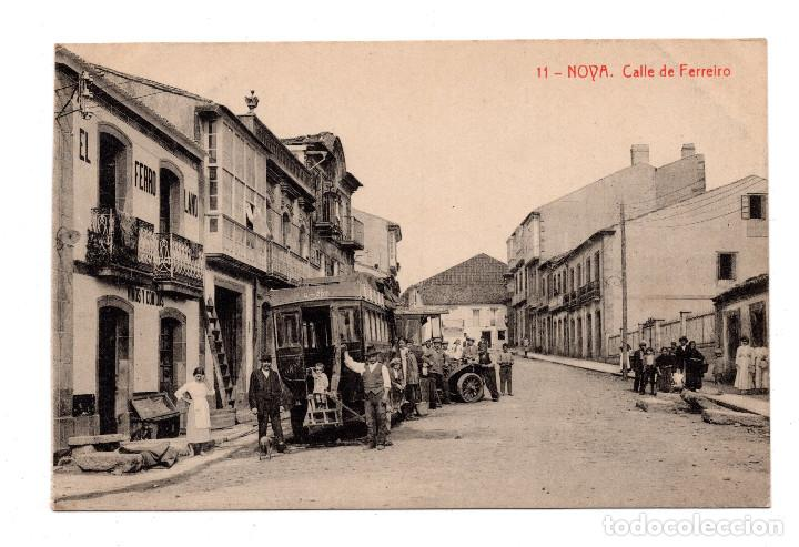 NOVA.- CALLE FERREIRO . FOTOTIPIA THOMAS (Postales - España - Galicia Antigua (hasta 1939))