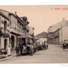 Postales: NOVA.- CALLE FERREIRO . FOTOTIPIA THOMAS. Lote 110019523