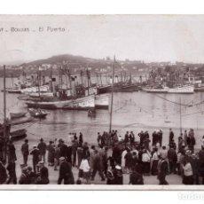 Postales: FOTOGRAFÍA POSTAL DE BOUZAS, VIGO.- EL PUERTO, N. 1507, ED. UNIQUE, NO CIRCUALADA.. Lote 110031215